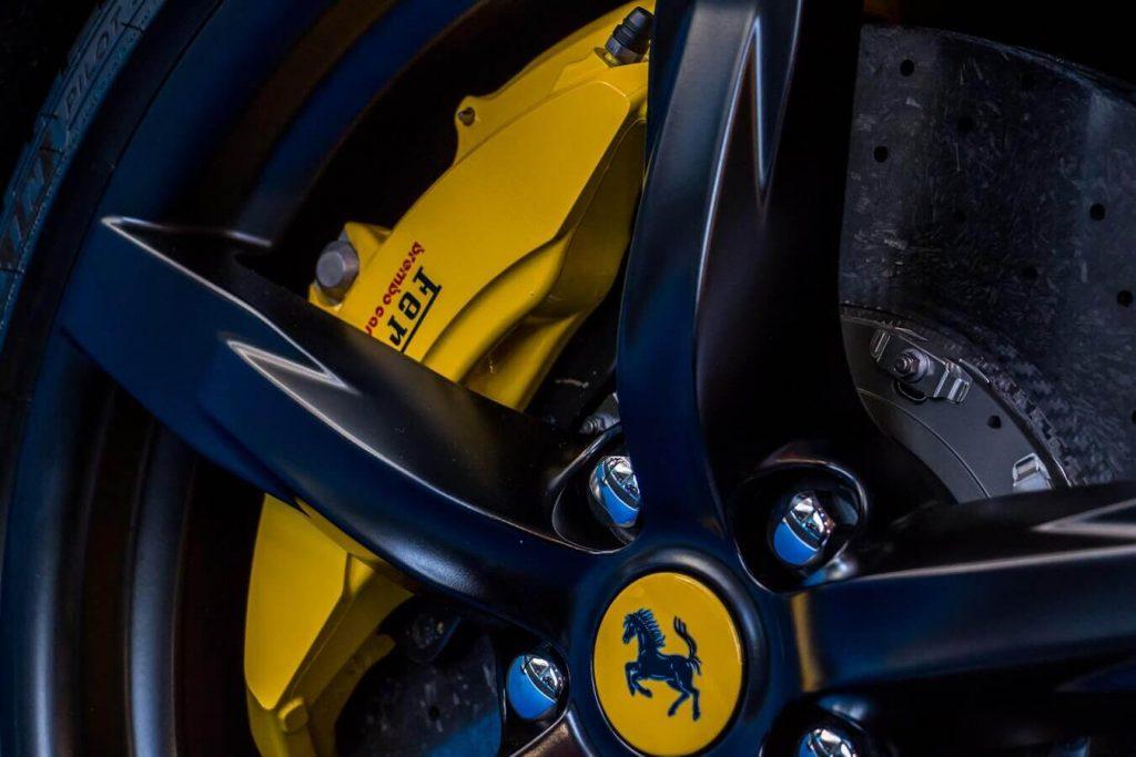 Branded Ferrari wheel