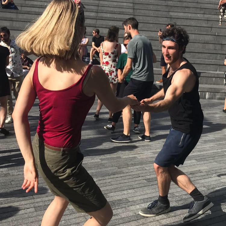 Itamar Blauer Swing Dancing