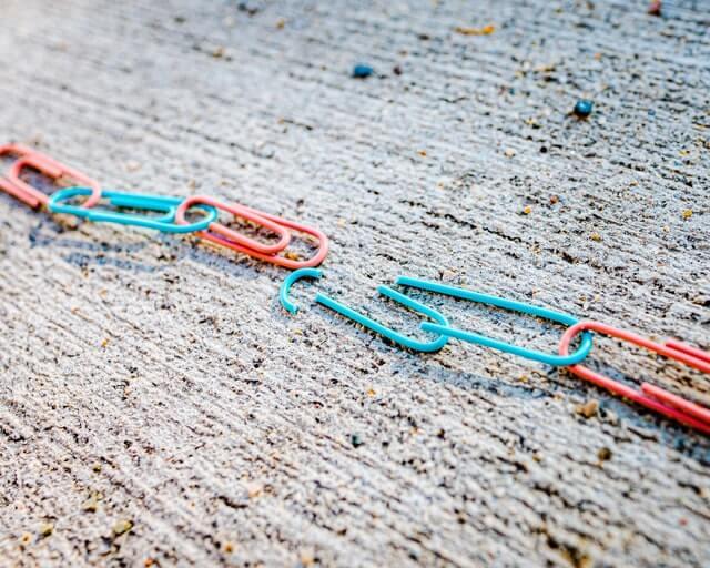 Unlinked link