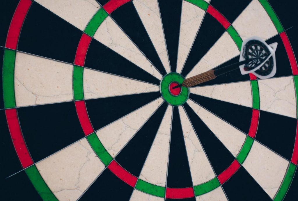 Video marketing target audience (Bullseye)