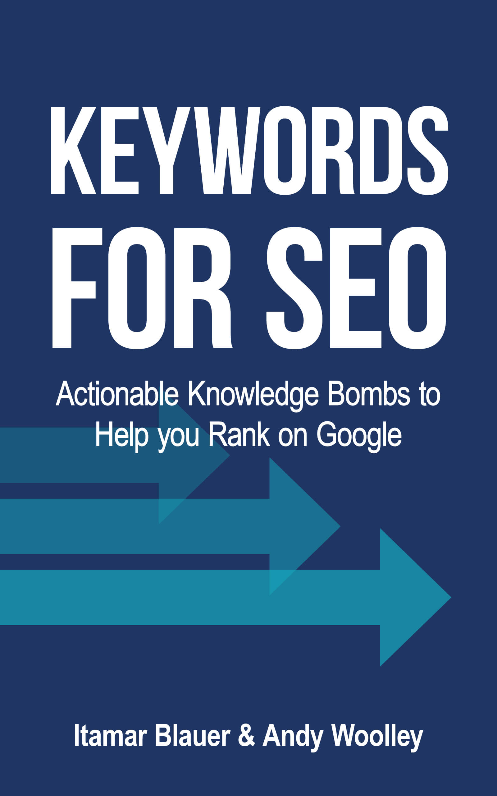 Keywords for SEO eBook Cover