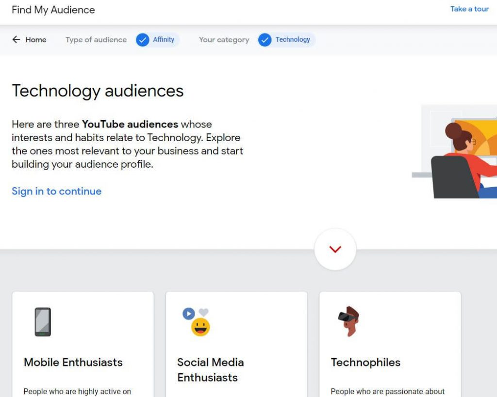 Find My Audience YouTube Results