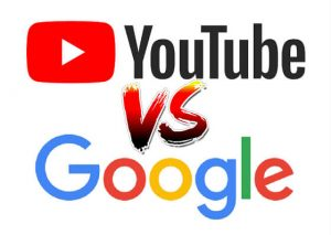 YouTube VS Google